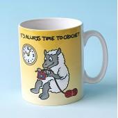 5148 Mug-THERES ALWAYS TIME TO CROCHET