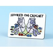 6103 Fridge Magnet-HOOKED ON CROCHET
