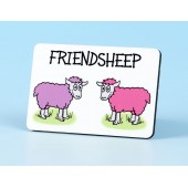 6107 Fridge Magnet-FRIENDSHEEP