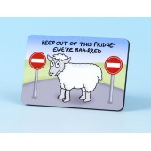 6110 Fridge Magnet-KEEP OUT OF THIS FRIDGE