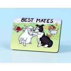 6113 Fridge Magnet-BEST MATES