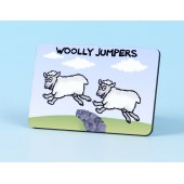 6118 Fridge Magnet-WOOLLY JUMPERS