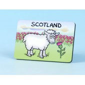 6126 Fridge Magnet-SHEEP WITH THISTLE