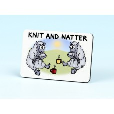 6140 Fridge Magnet-KNIT AND NATTER