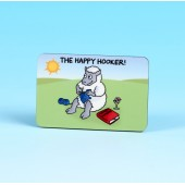 6147 Fridge Magnet-THE HAPPY HOOKER
