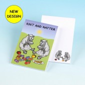 3171 Note Pad-KNIT AND NATTER