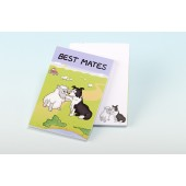 3127  Note Pad- BEST MATES