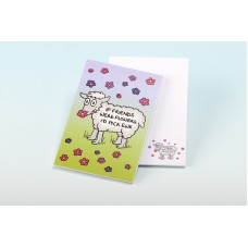 3136  Note Pad-IF FRIENDS WERE FLOWERS, I'D PICK EWE
