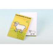 3147  Note Pad-EWE BRIGHTEN UP MY DAY