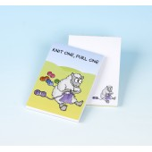 3161 Note Pad-KNIT ONE, PURL ONE