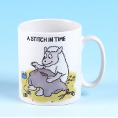 5141 Mug-A STITCH IN TIME