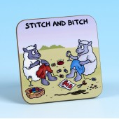 5239 Coaster-STITCH AND BITCH