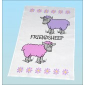 T23 Tea Towel-FRIENDSHEEP