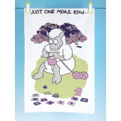 T41 Tea Towel-JUST ONE MORE ROW