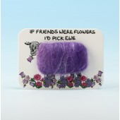 4104 Woolly Fridge Magnet- IF FRIENDS WERE FLOWERS, I'D PICK EWE