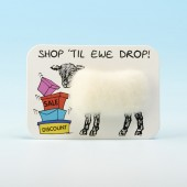4106 Woolly Fridge Magnet-SHOP TIL EWE DROP