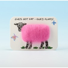 4107 Woolly Fridge Magnet-EWE'S NOT FAT, EWE'S FLUFFY