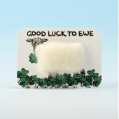 4114 Woolly Fridge Magnet-GOOD LUCK TO EWE