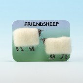 4118 Woolly Fridge Magnet-FRIENDSHEEP